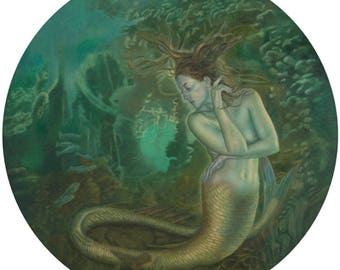Mermaid Greetings Card