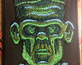 Frankenstein's Monster Embroidered Patch