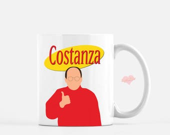 George Costanza Coffee Mug - Seinfeld