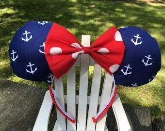 Ready to Ship Anchor Mickey Ears