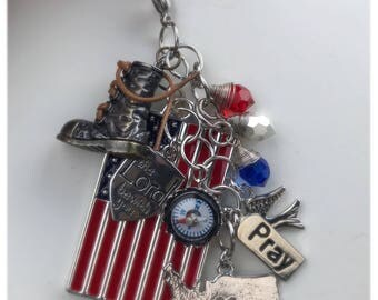 Military Inspired Charm Bunch