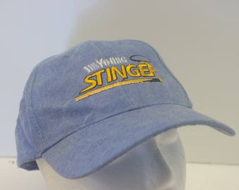 Young Stinger 90s 1990s denim low profile hat