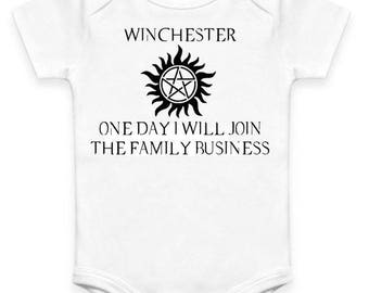 Winchester - Supernatural - Baby Clothes