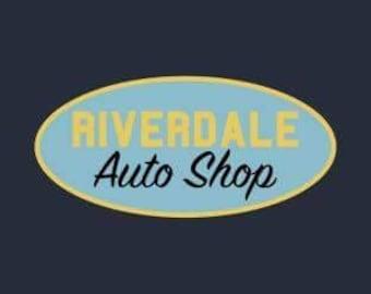 Pre order! Riverdale Auto shop patch Jughead