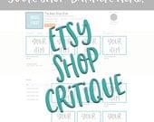Etsy Shop Critique, Shop Critique, Tags and Title, Etsy Shop Help, Etsy Shop Listing, Etsy SEO, SEO HELP
