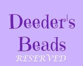 RESERVED - Glass Pearls - 8mm in 8 colors - 50 pieces each