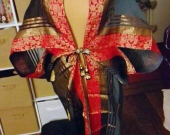 Art deco orientalism dressing gown