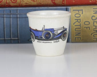 Vintage Egg Cup Escoffier of London - 1924 Vauxhall 30/98