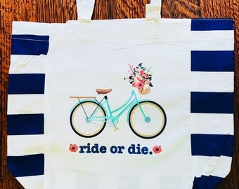Ride or die market tote