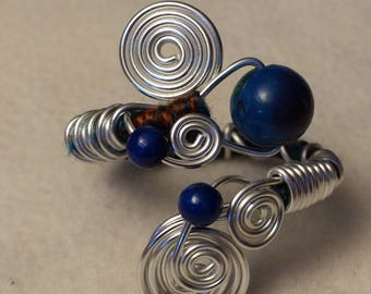 large aluminum bracelet beads