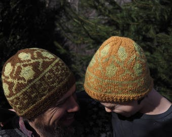 Hat Knitting Pattern *Taking Root*