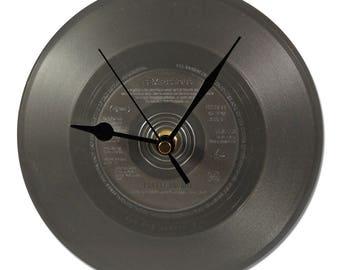 """SEX PISTOLS """"PRETTY VACANT"""" grey 45tours VINYL clock!"""