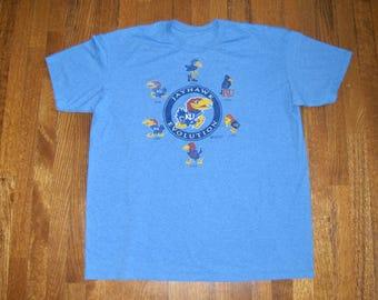 Guitar player evolution tshirt cool musician t shirt for Funny kansas jayhawks t shirts