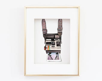 Matted 11x14 Vintage Camera Print