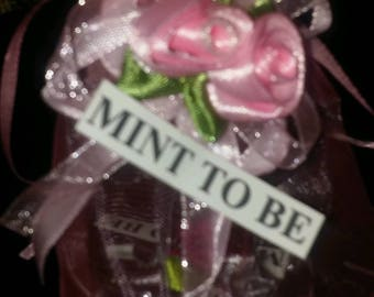 Wedding-favors-Set-of-100-Mint-to-be + gift bags