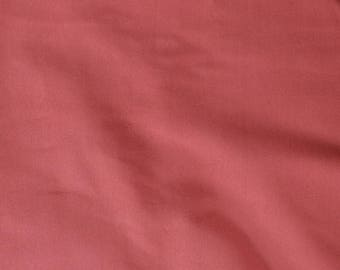 Fabric - cotton/elastane t-shirt weight jersey fabric -  brick red - knit fabric.