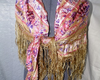 Gypsy boho summer shawl