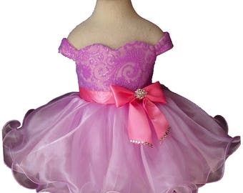 girl pageant dress Y003