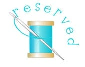 Reserved for juliecarbary