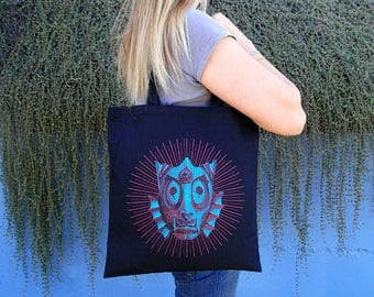 Creature from the Black Lagoon Tote Bags