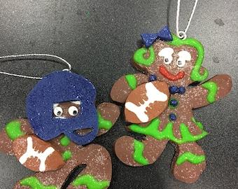 Seahawks Gingerbread Man