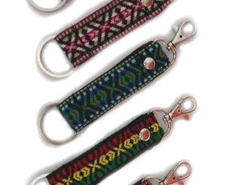 Ethnic Mexican Keychain - choose your package with 1, 3, 5, 10 or more Assorted keychains