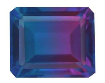 Candy Quartz Triplet Octagon Cut Loose Gemstone 1A Quality 12x10mm TGW 6.40 cts.