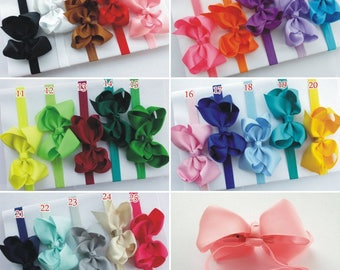 Baby knotted headband,hair bow,toddler headband,headband toddler ,baby headband ,headband bow - baby girl headband ,25 colors for PICK,O2