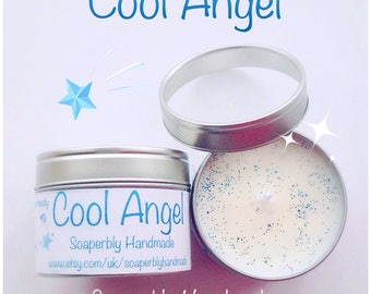 Cool Angel Christmas candle, eco friendly soy wax