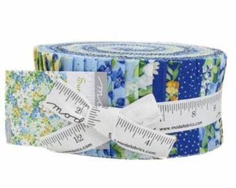"Summer Breeze V by Moda Jelly Roll 2.5"" Strips"