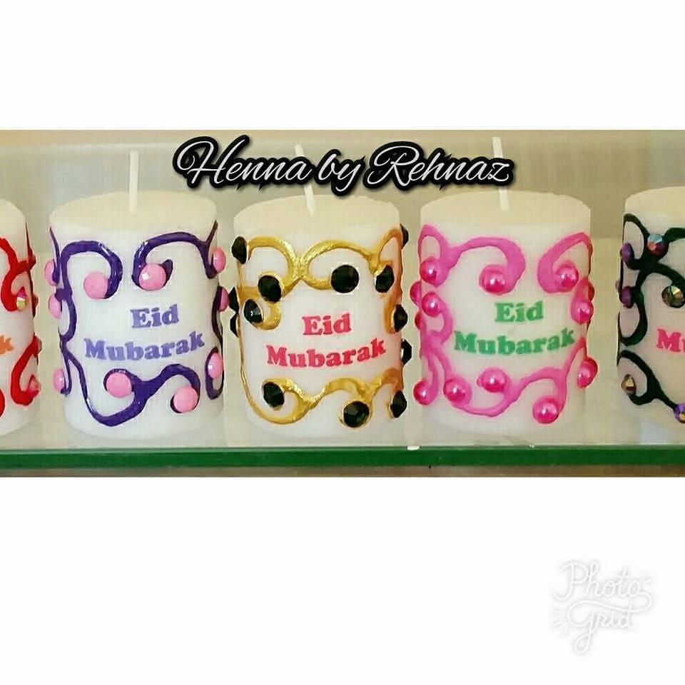20 Wonderful Eid Mubarak Ideas: Eid Mubarak Candles X 20 Muslim GiftsEid Decor.Eid Gifts