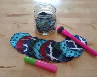 Reusable Facial rounds, Makeup removers, Face scrubbies, Makeup remover pads, Toner pads