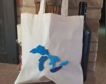 Great Lakes market tote