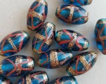 Embellished Glass  beads