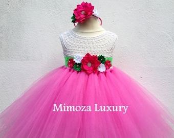 SALE Strawberry shortcake Dress, strawberry costume, strawberry shortcake theme party, strawberry shortcake tutu dress, birthday party dress