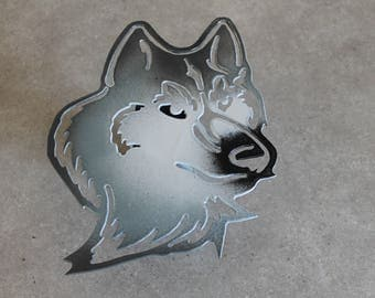 Wolf hitch cover