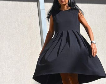 SALE 25% OFF Black Dress / Loose Dress / Maxi black dress / Oversize DRESS plus size Dress / woman loose