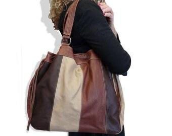 """mon """" Artur """"  *handbag  *leather  *hobo"""