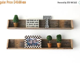 Sale TWO Floating Shelves!!