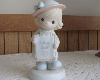 Precious Moments Follow Your Heart A 1995 Event Figurine Trumpet 1994 Symbol Retired