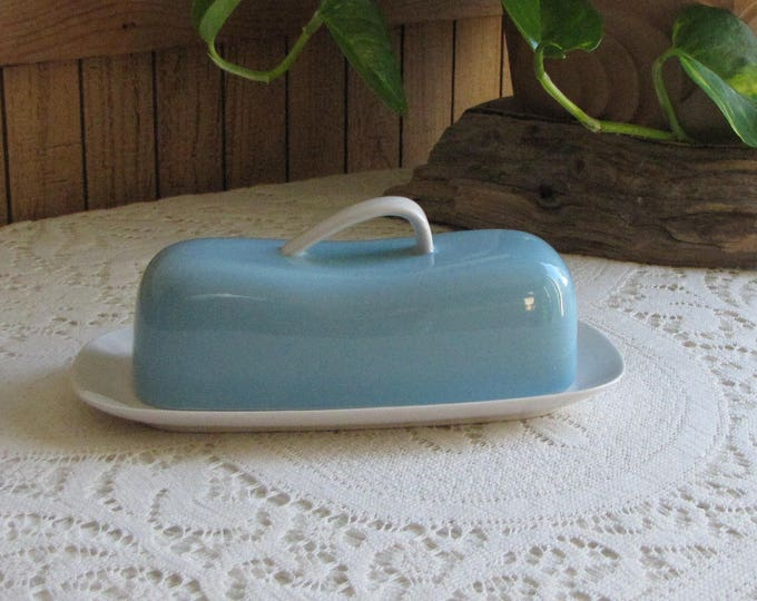 Kokura Gay Dawn Butter Dish Vintage Dinnerware and Replacements Retro Kitchens and Storage