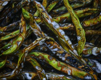 Moldy Green Beans Painting