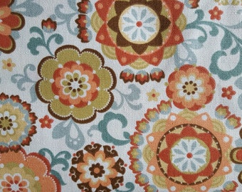 Janine Woodland Cotton Duck Fabric (1 yard 29 inches)
