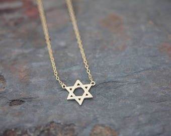 Star David necklace