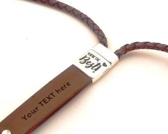 custom lanyard, engraved lanyard, key holder lanyard, leather key lanyard, badge holder, logo lanyard, ID lanyard corporate gift