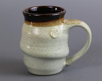 Handmade Pottery Mug in Freckles Glaze
