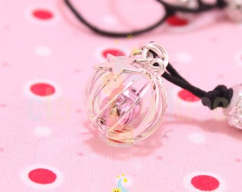 Jingle Bell Jingle Bell silver Cage pregnancy's Bola pink pale free shipping