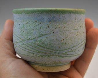 Yunomi, Tea Cup, Guinomi, Sake cup, handmade ceramic tea cup, pottery tea cup, stoneware cup, Free US First Class shipping