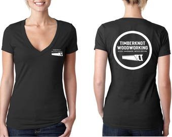 Timberknot Womens Woodworking T-Shirt