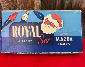 old christmas lights etsy - Antique Christmas Lights